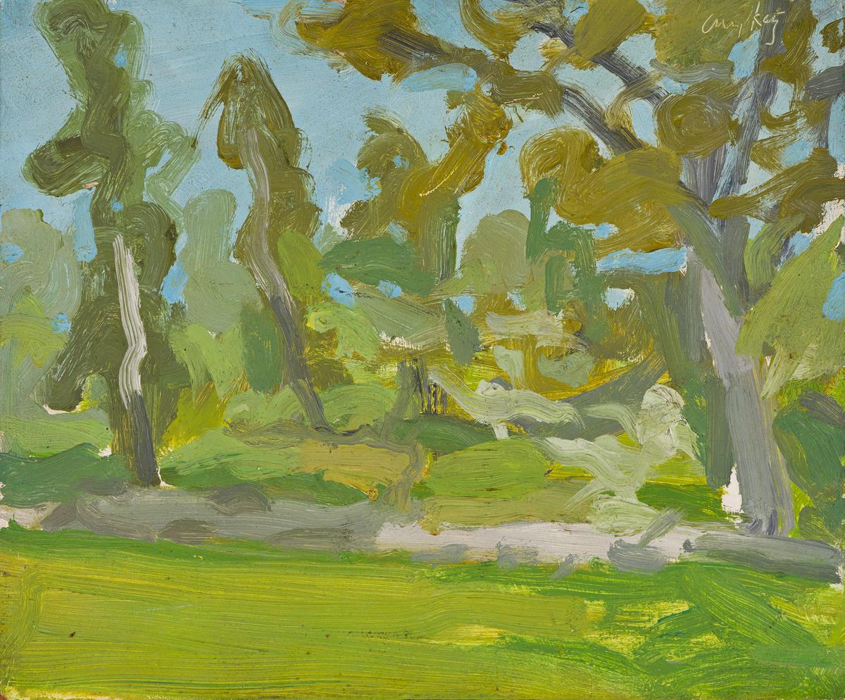 ALEX KATZ Maine Landscape.