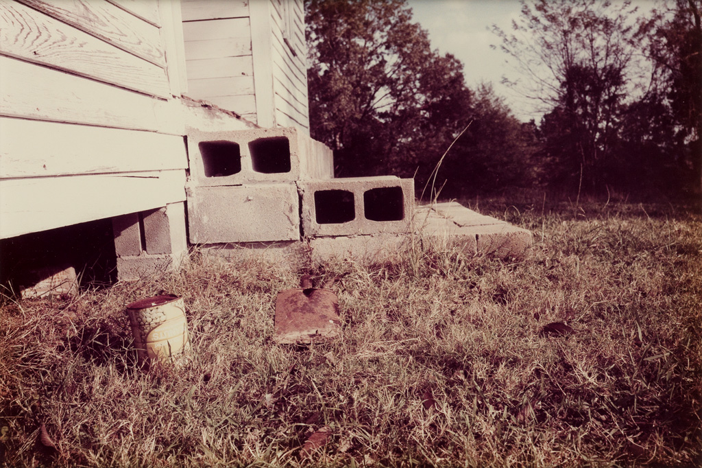 WILLIAM-EGGLESTON-(1939--)-Side-of-house--Untitled-(from-a-B