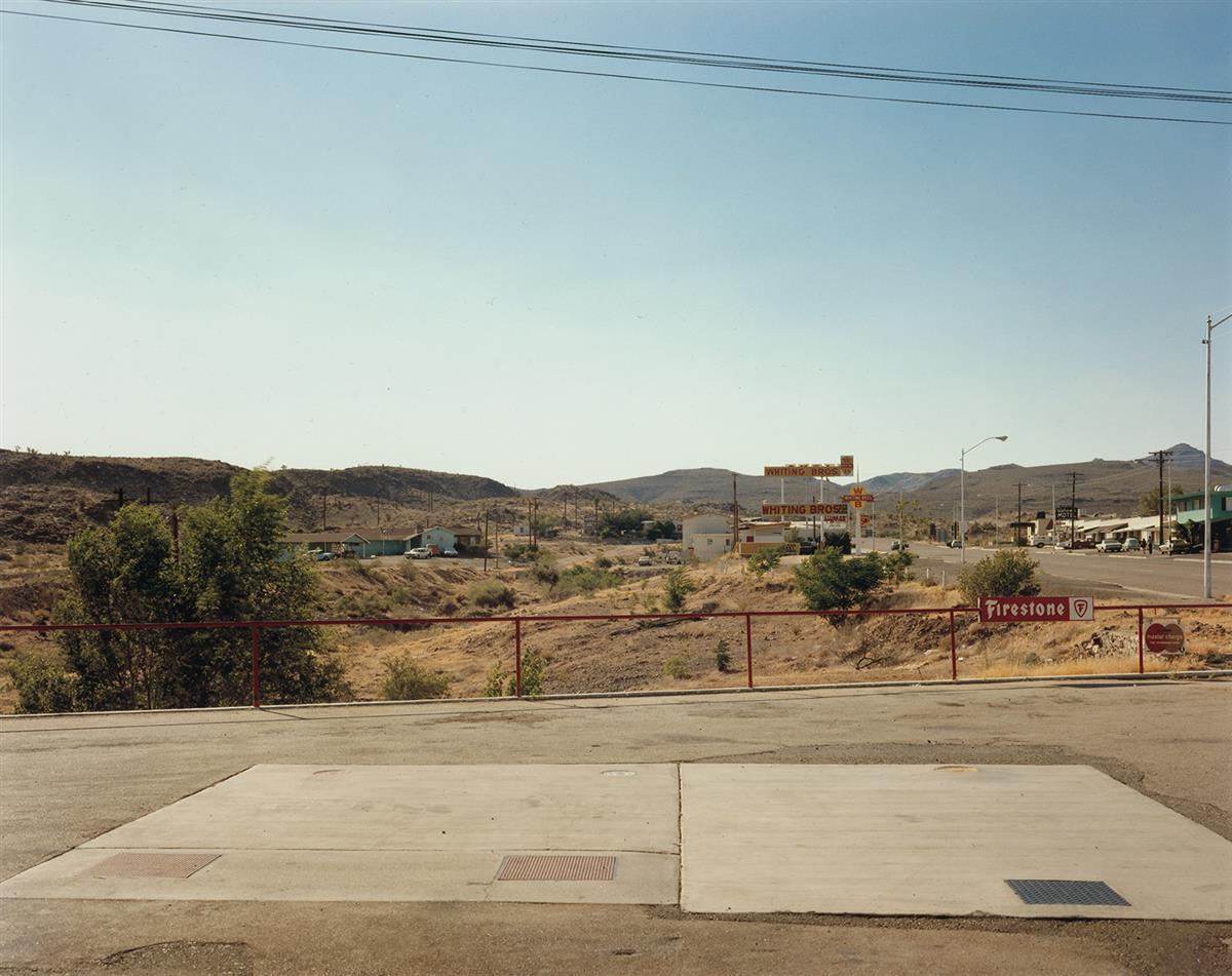 STEPHEN SHORE (1947- ) U.S. 93, Kingman, Arizona, July 2, 1975.