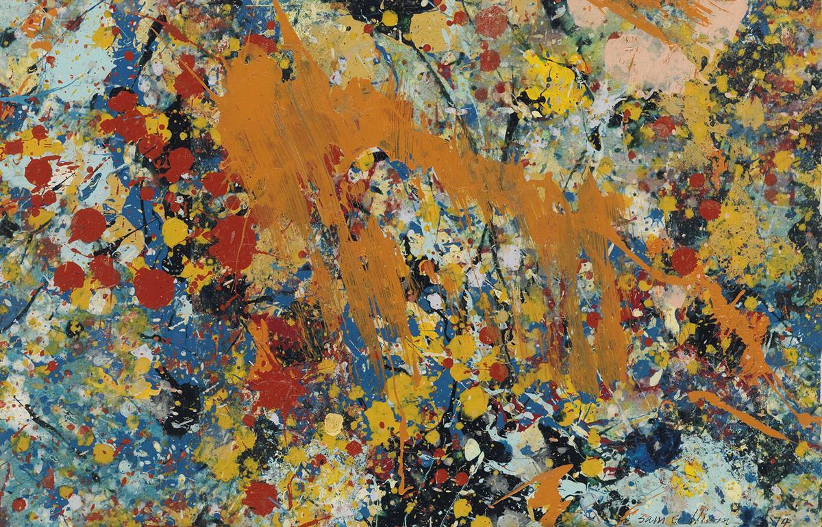 SAM-GILLIAM-(1933-----)-Untitled