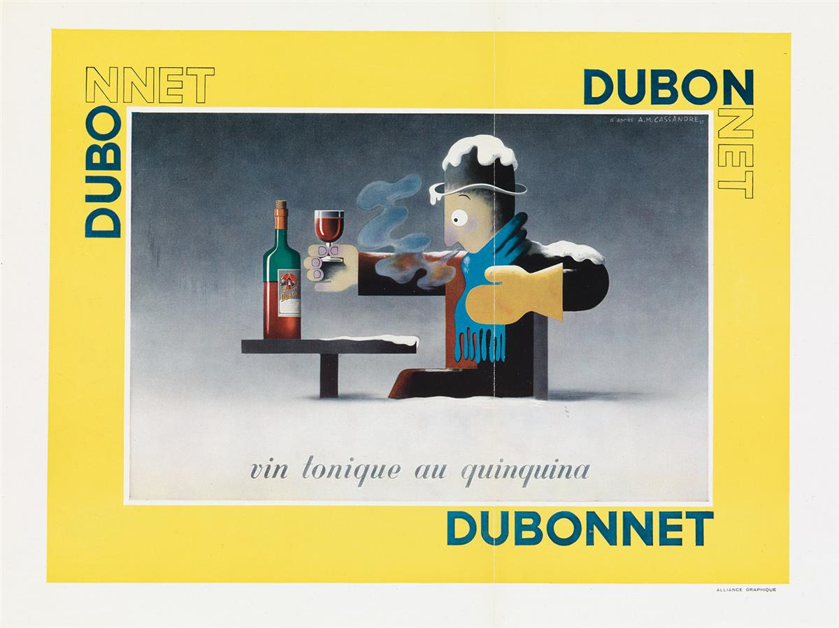 ADOLPHE-MOURON-CASSANDRE-(1901-1968)-[FOOD--WINE]-Group-of-3