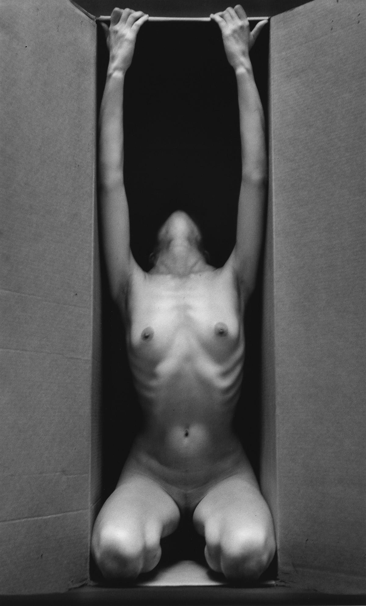 RUTH BERNHARD (1905-2006) In the Box - Vertical.