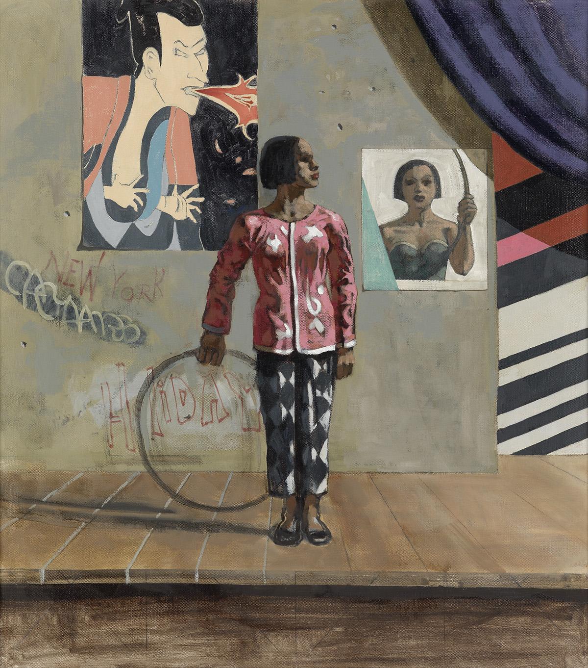 HUGHIE LEE-SMITH (1915 - 1999) Untitled (Stage 95).