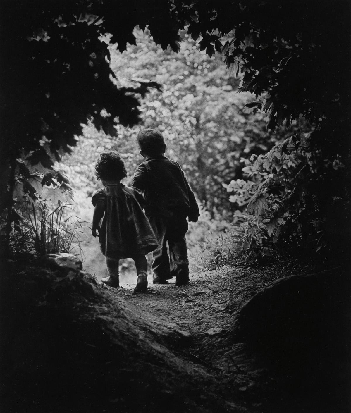 W. EUGENE SMITH (1918-1978) The Walk to Paradise Garden.