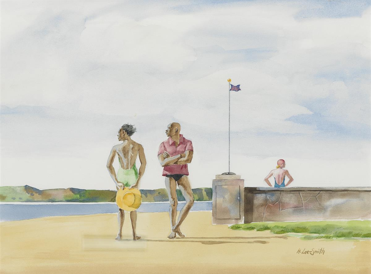 HUGHIE LEE-SMITH (1915 - 1999) Summer Pause.