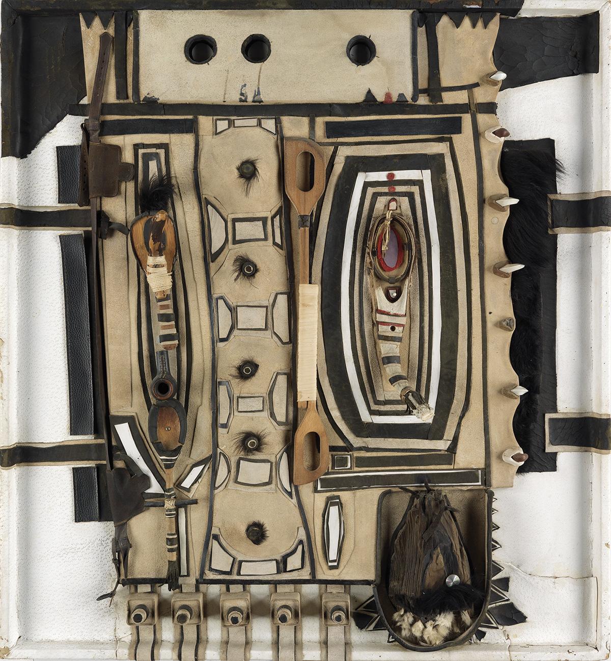 NOAH PURIFOY (1917 - 2004) Untitled (Zulu series).