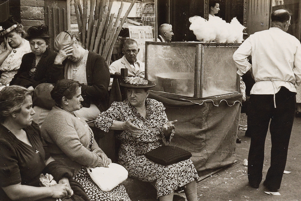 HELEN LEVITT (1913-2009) A pair of New York City street scenes.