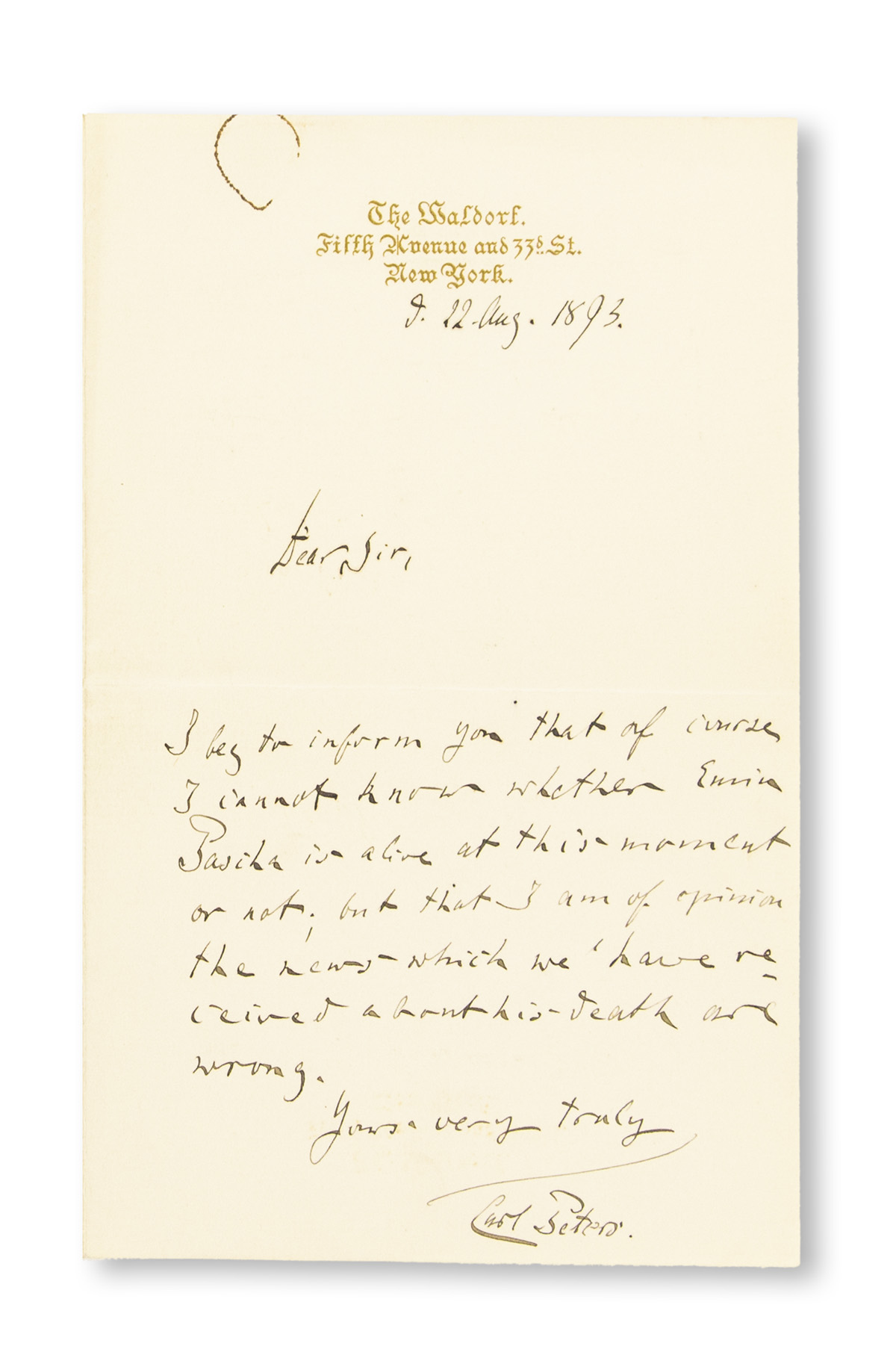 (EXPLORERS)-PETERS-CARL-Autograph-Letter-Signed-to-CT-Scott-