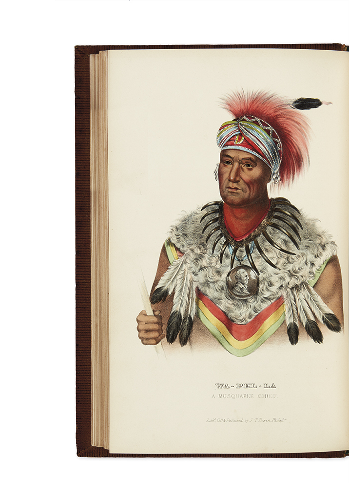 (AMERICAN INDIANS.) McKenney, Thomas L.; and Hall, James. History of the Indian Tribes of North America.