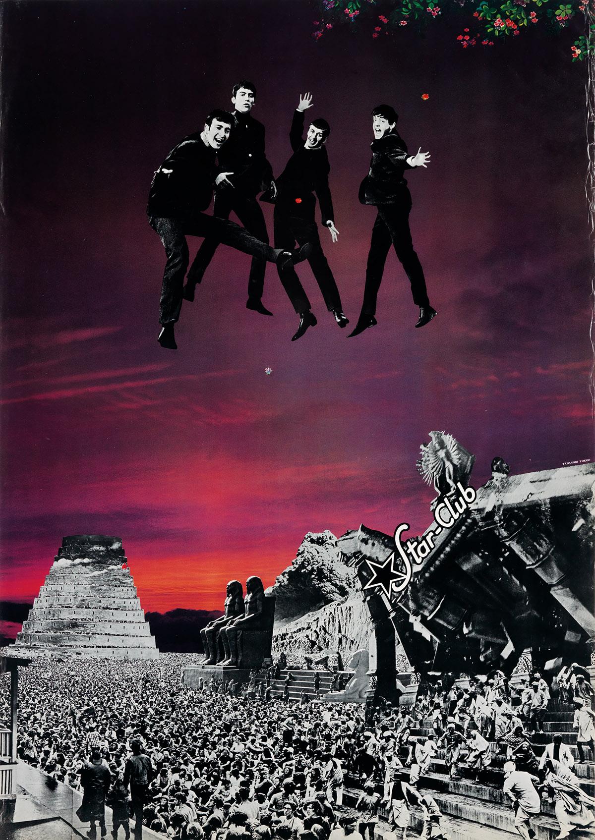 TADANORI-YOKOO-(1936--)-[GRAPHIC-DESIGN--MUSIC]-Group-of-3-p
