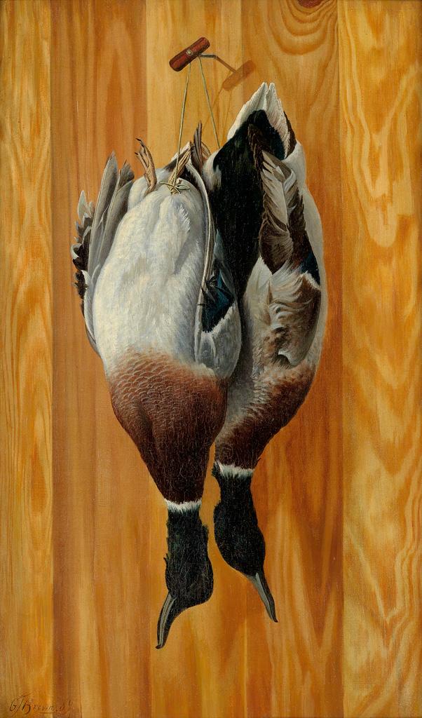 GRAFTON-TYLER-BROWN-(1841---1918)-Mallard-Ducks-of-Montana