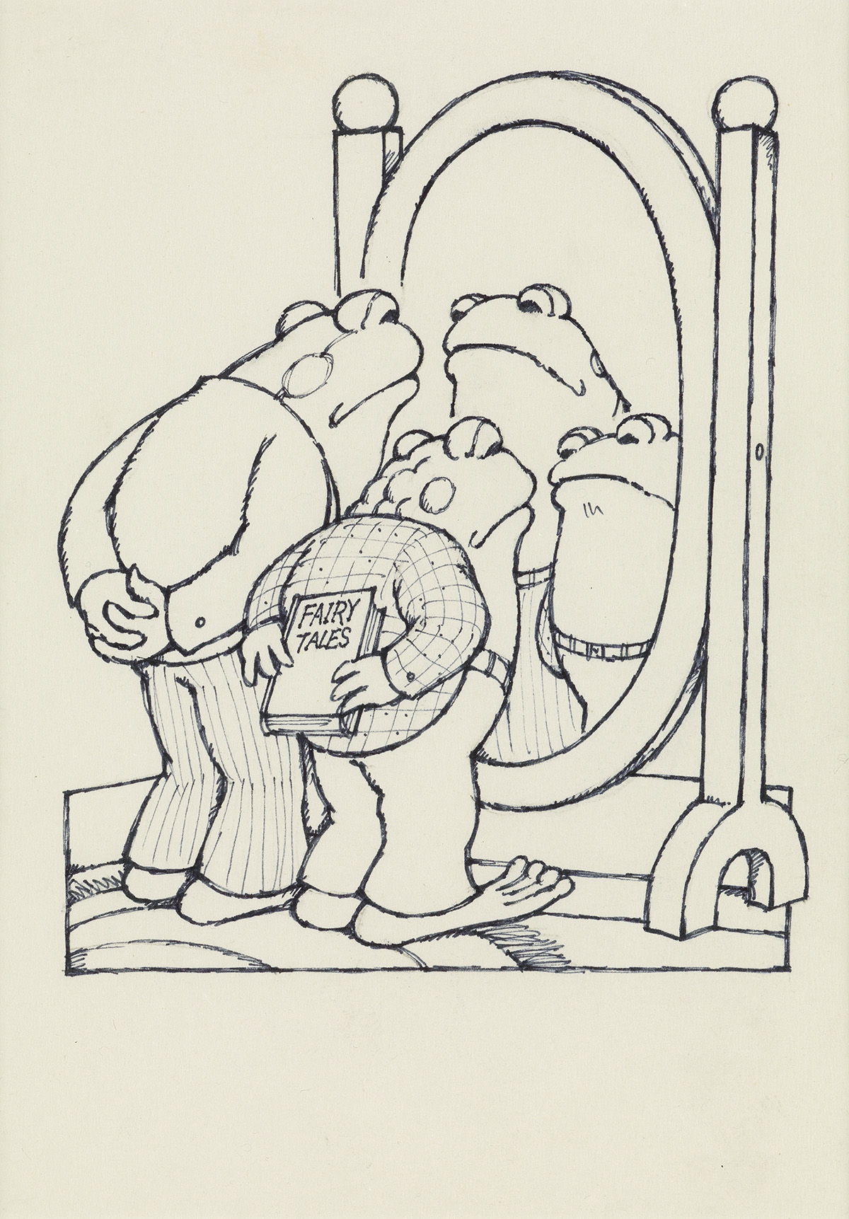 ARNOLD LOBEL (1933-1987)  `We look brave, said Frog. Yes, but are we? asked Toad.
