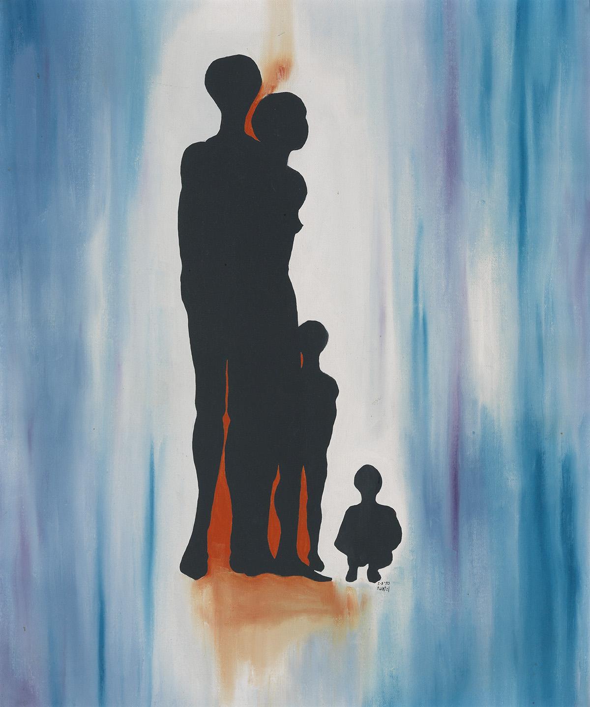 TURTEL ONLI (ALVIN PHILLIPS) (1952 -  ) Family Group.