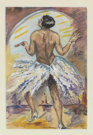 (ART.) PORTER, JAMES AMOS. Cabaret Dancer (Josephine).