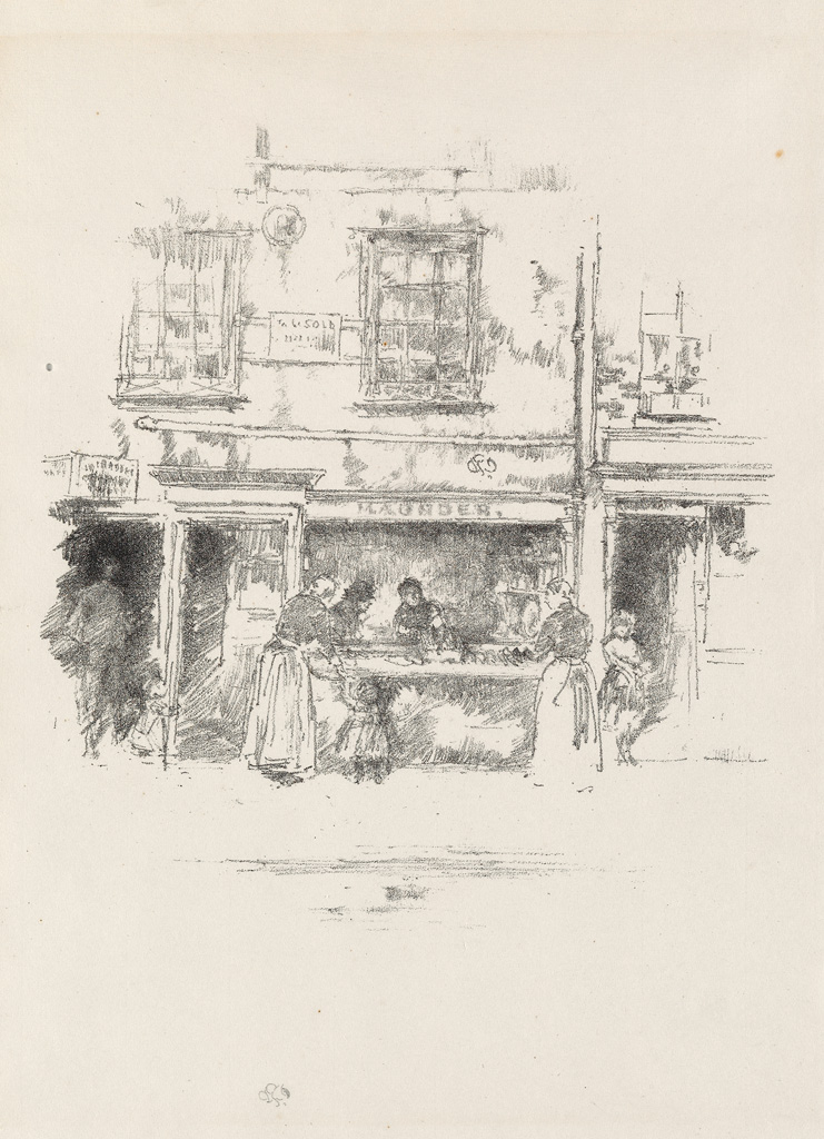 JAMES-A-M-WHISTLER-Maunders-Fish-Shop-Chelsea