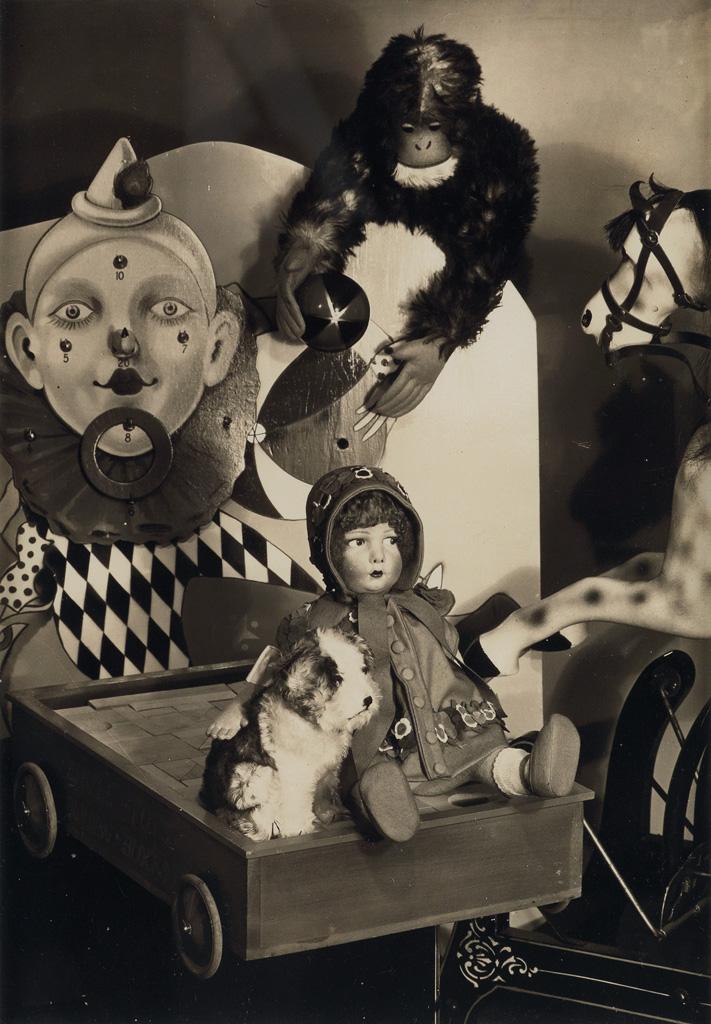 PAUL OUTERBRIDGE, JR. (1896-1958) Still life (toys).