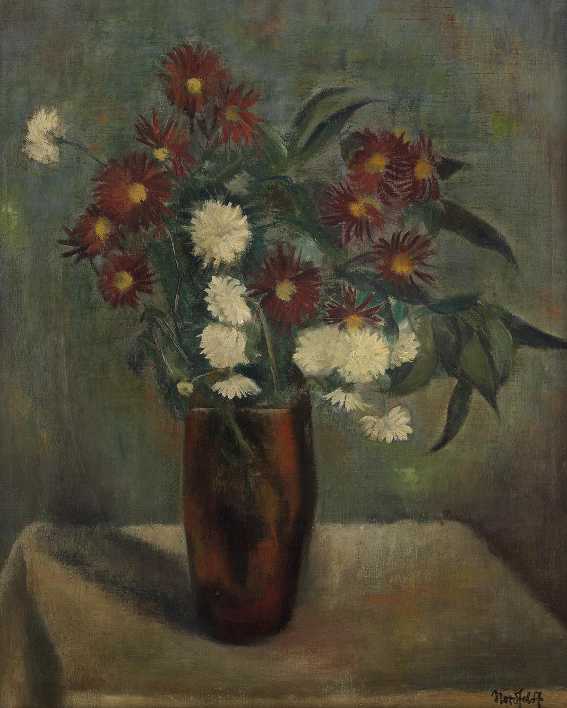 BROR-J-O-NORDFELDT-Still-Life-with-Flowers