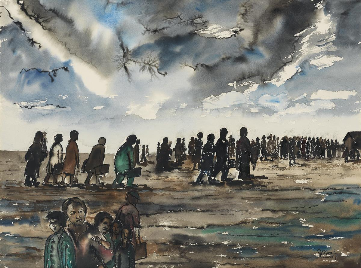 JIMMIE LEE MOSELY (1927 - 1974) Migration #1.