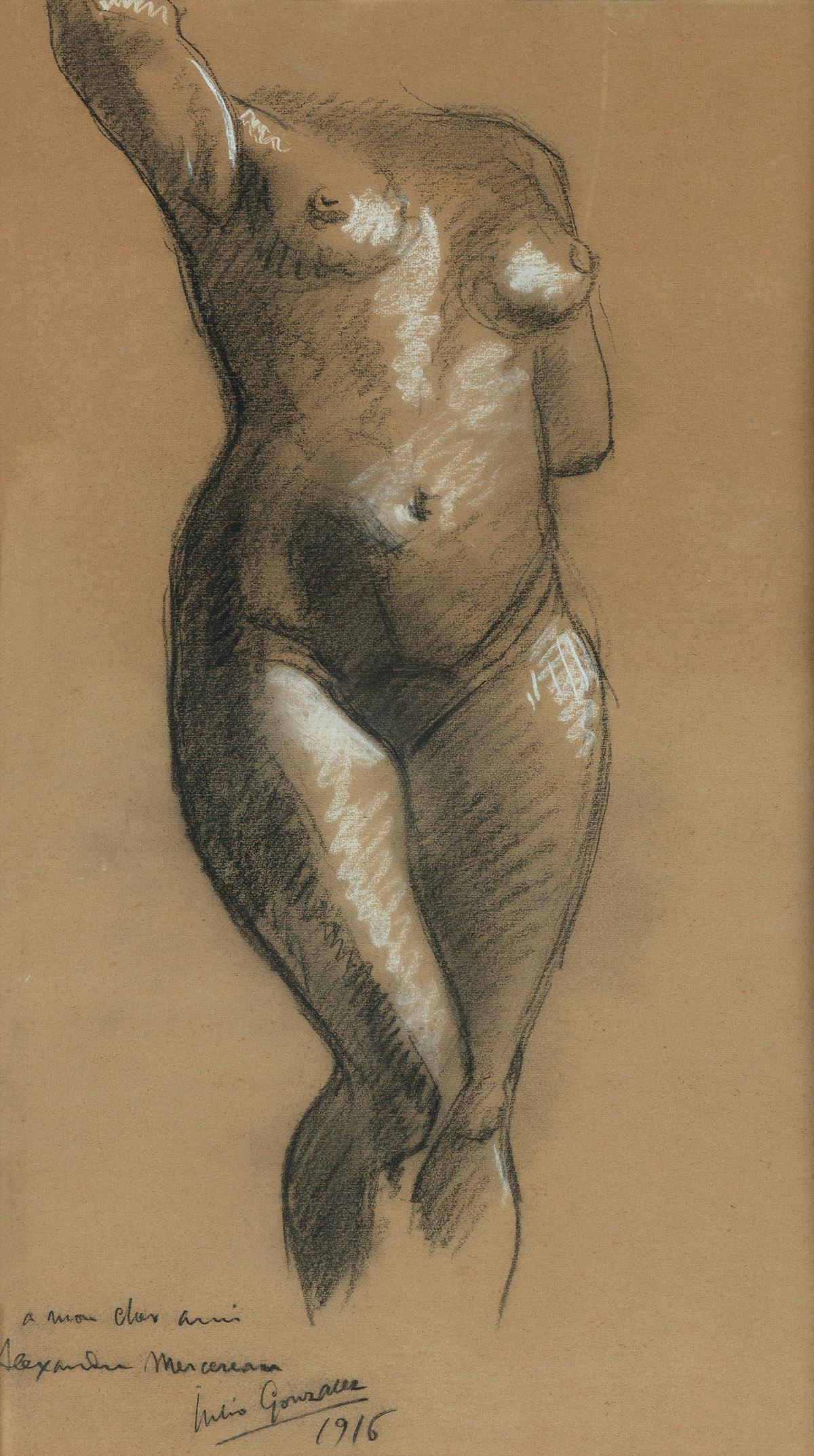 JULIO-GONZÁLEZ-(Barcelona-1876-1942-Arcueil)-Standing-Female