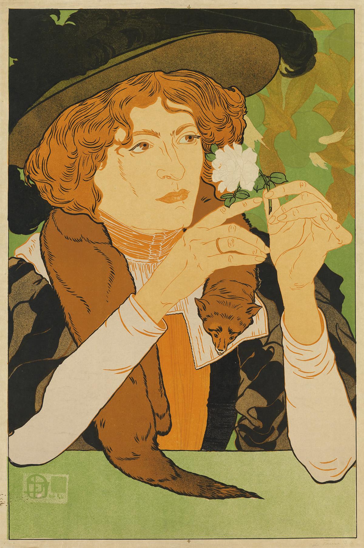 GEORGES-DE-FEURE-(1868-1943)-[SALON-DES-CENT--5ME-EXPOSITION