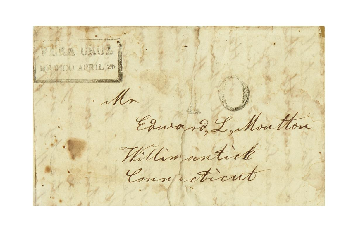 (MEXICAN-WAR)-Dorrance-William-T-Letter-from-an-impatient-se