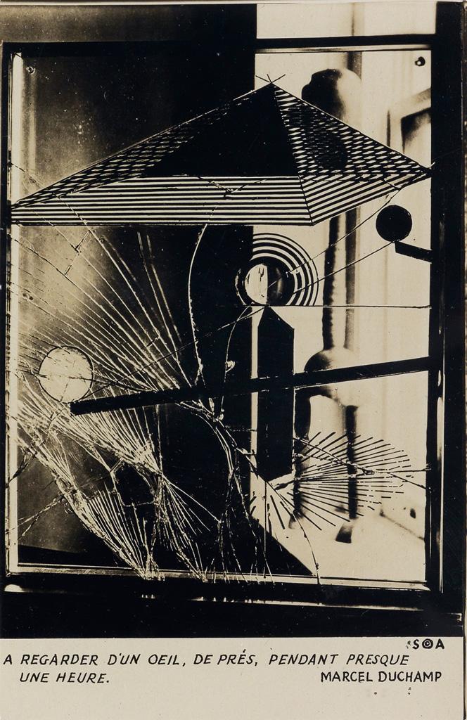 MAN RAY (1890-1976) Marcel Duchamps A Regarder dUn Oeil, De Prés Pendant Presque Une Heure.
