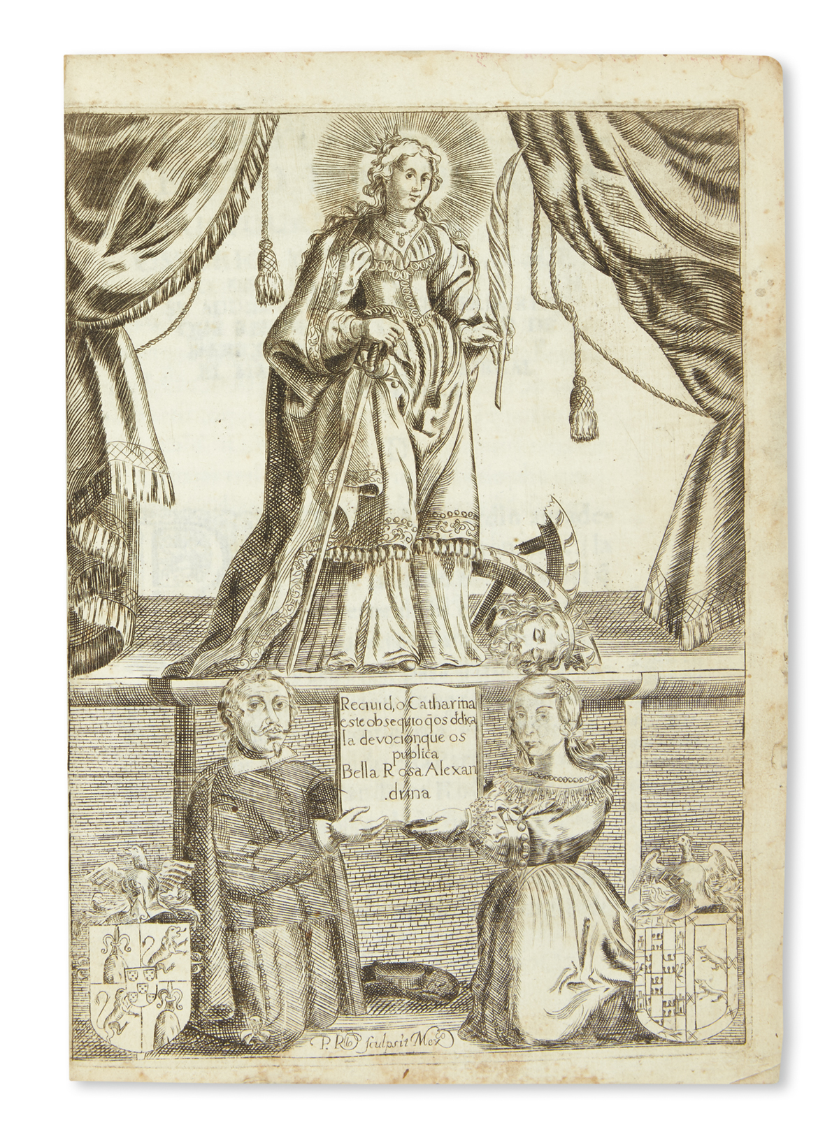 (MEXICAN-IMPRINT--1672)-Vega-Pedro-de-la-La-Rosa-de-Alexandr