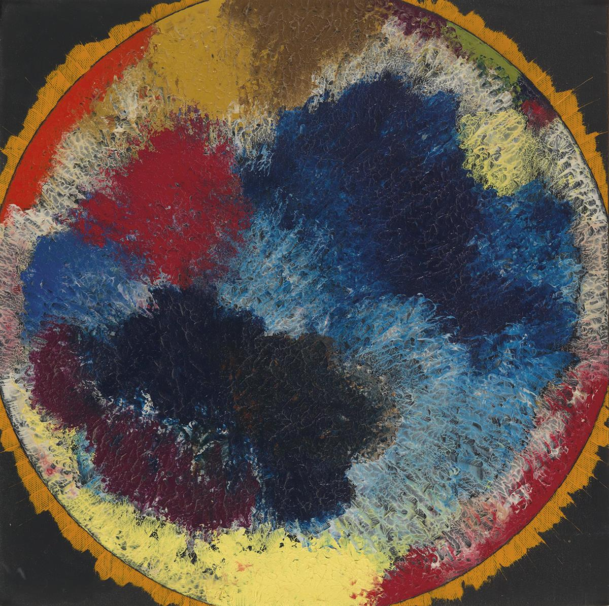 LEON MEEKS (1940 -  ) The Abstract Beauty of Earth.