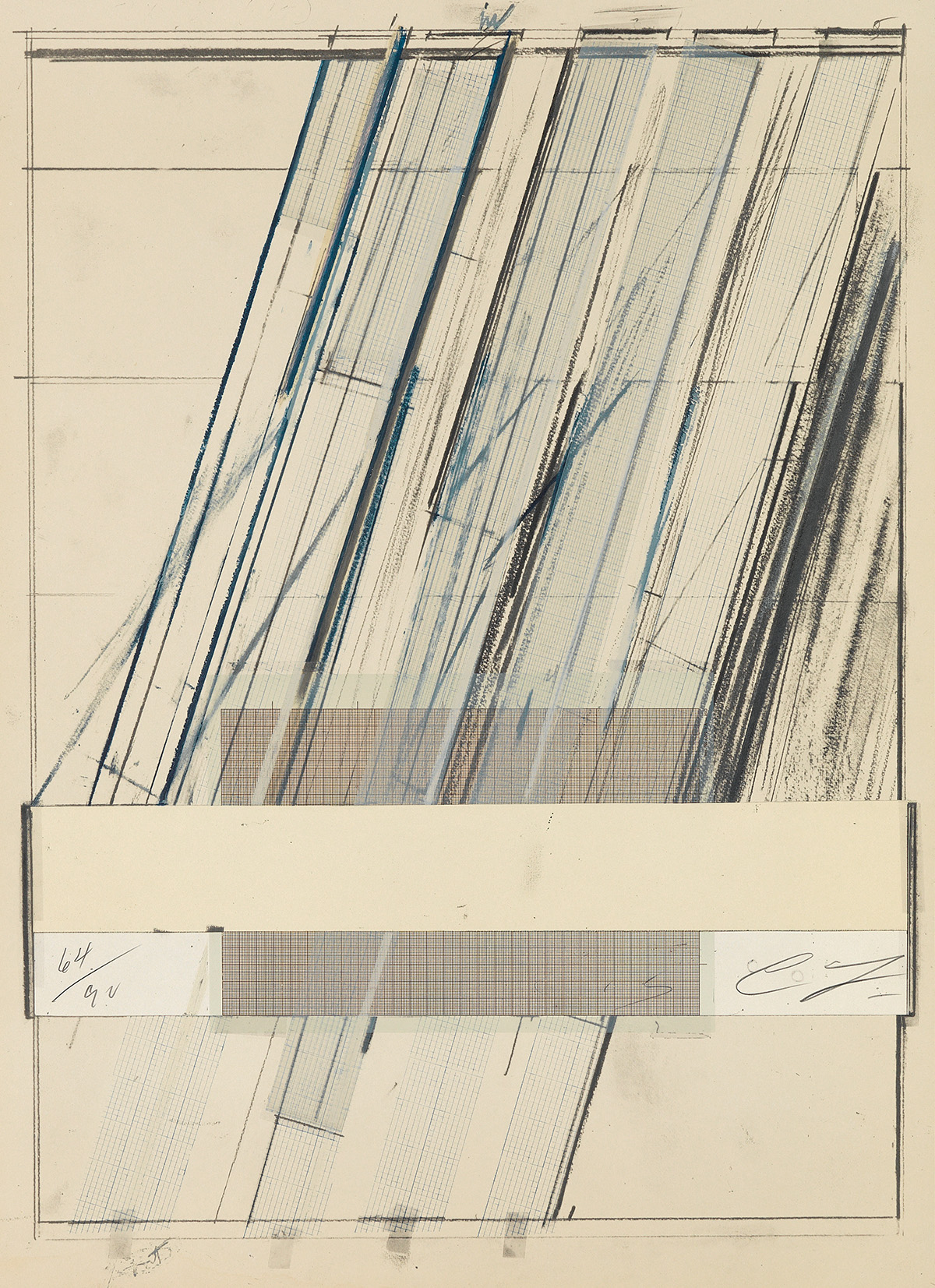CY TWOMBLY Untitled (Homage to Picasso).
