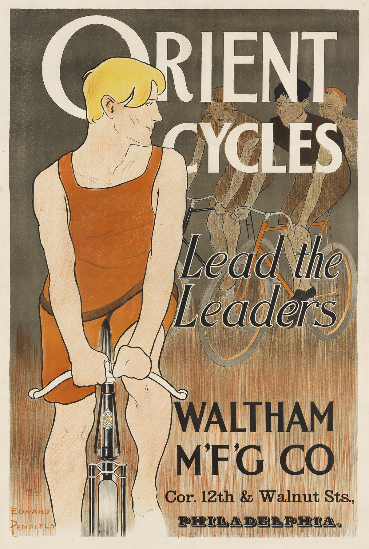EDWARD-PENFIELD-(1866-1925)-ORIENT-CYCLES--LEAD-THE-LEADERS-
