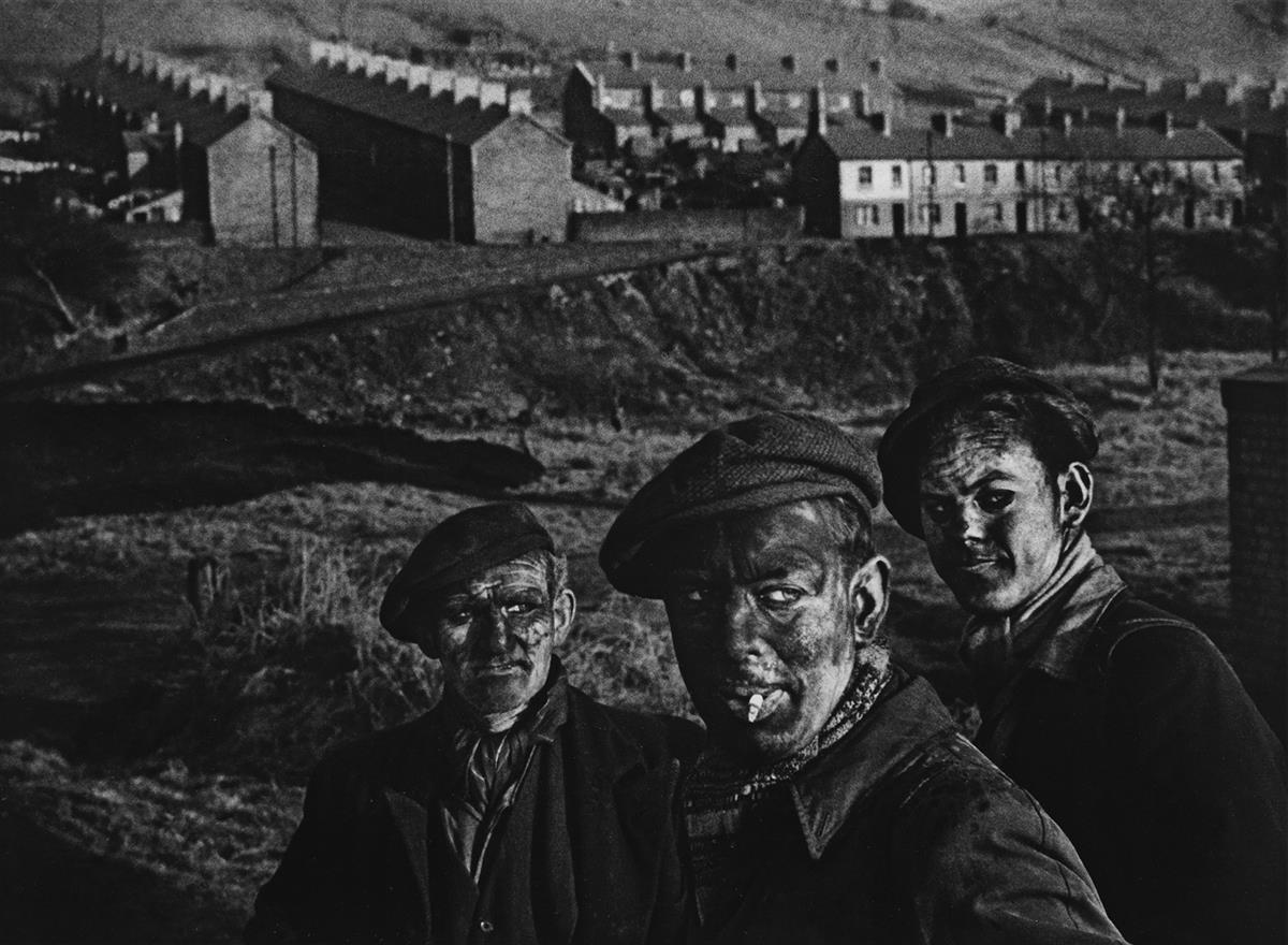 W. EUGENE SMITH (1918-1978) Welsh Miners.