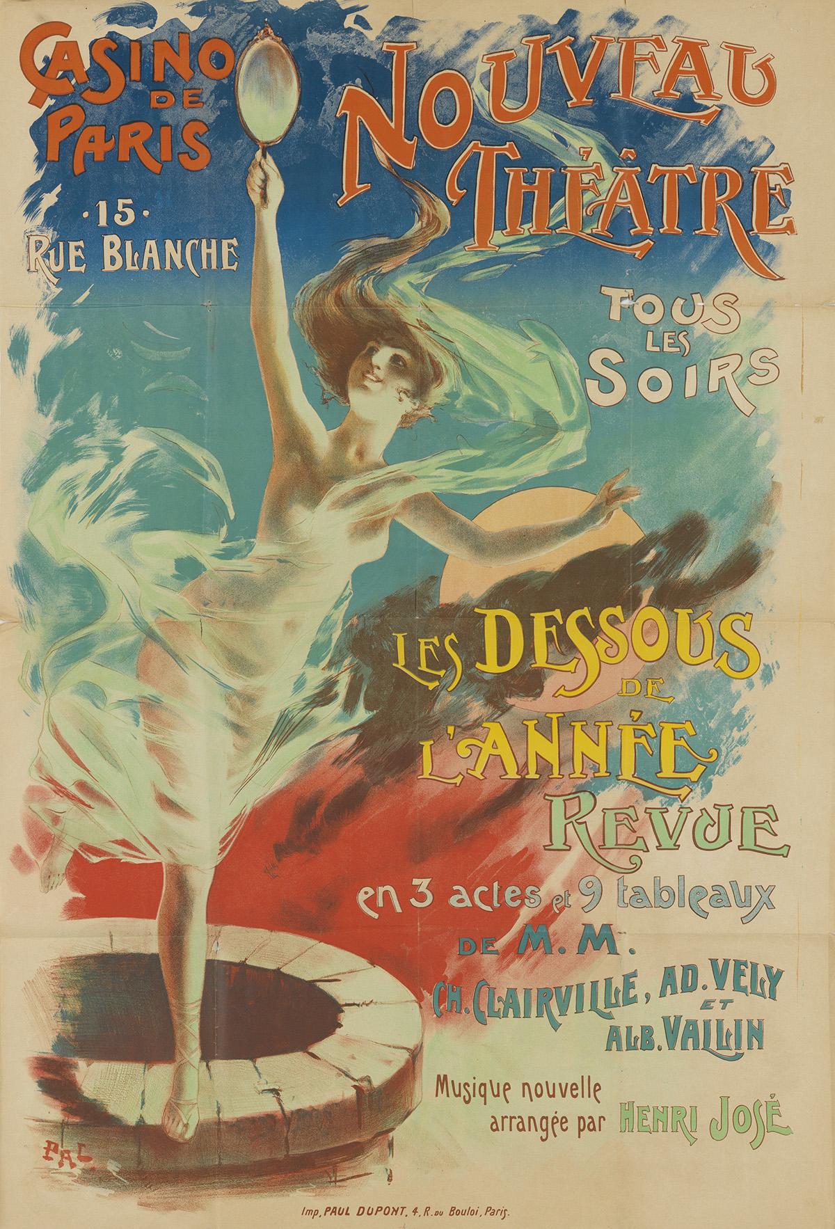 VARIOUS-ARTISTS-[CASINO-DE-PARIS--FOLIES-BERGÈRE]-Two-poster