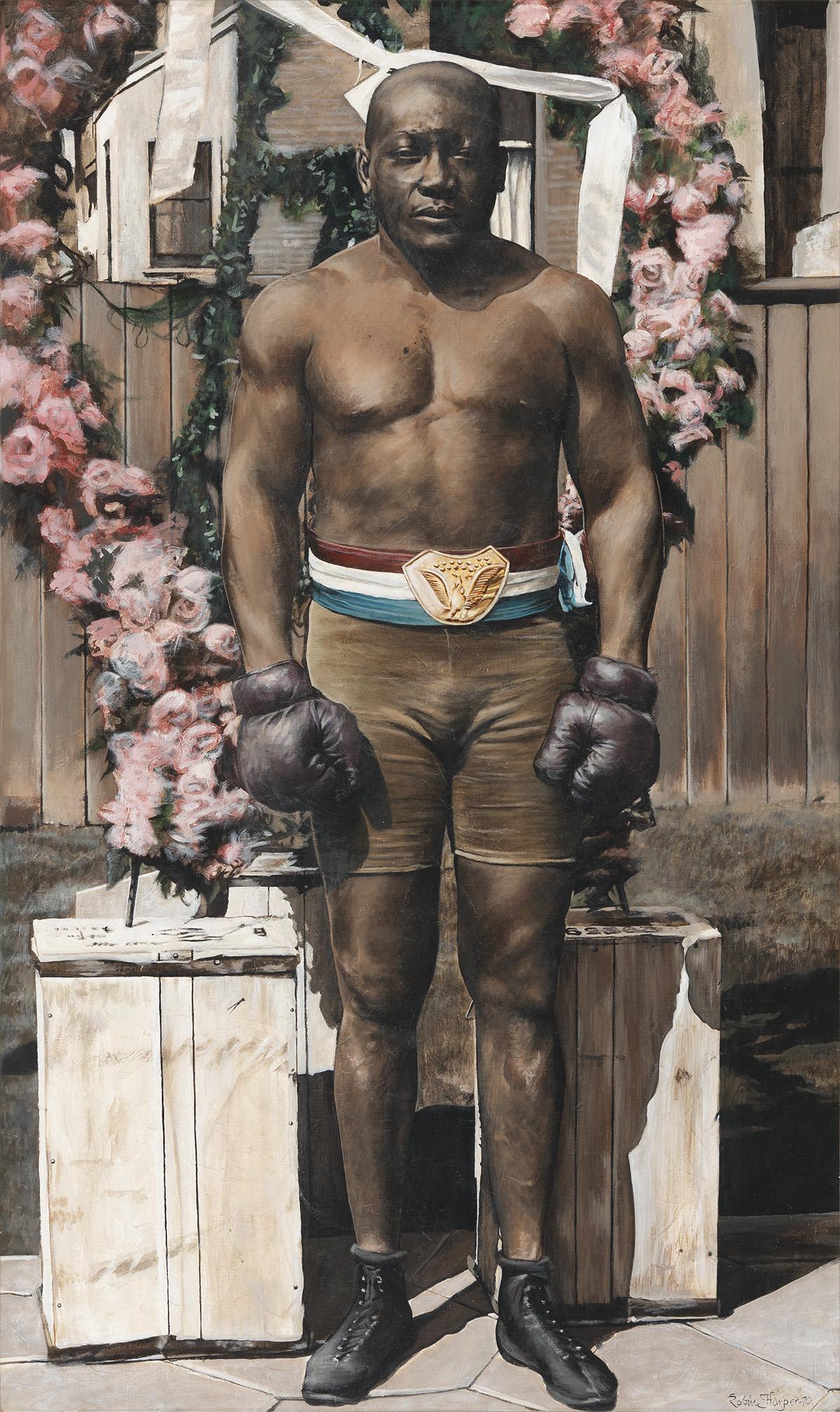 ROBIN HARPER (KWASI SEITU ASANTE) (1942-   ) Jack Johnson.