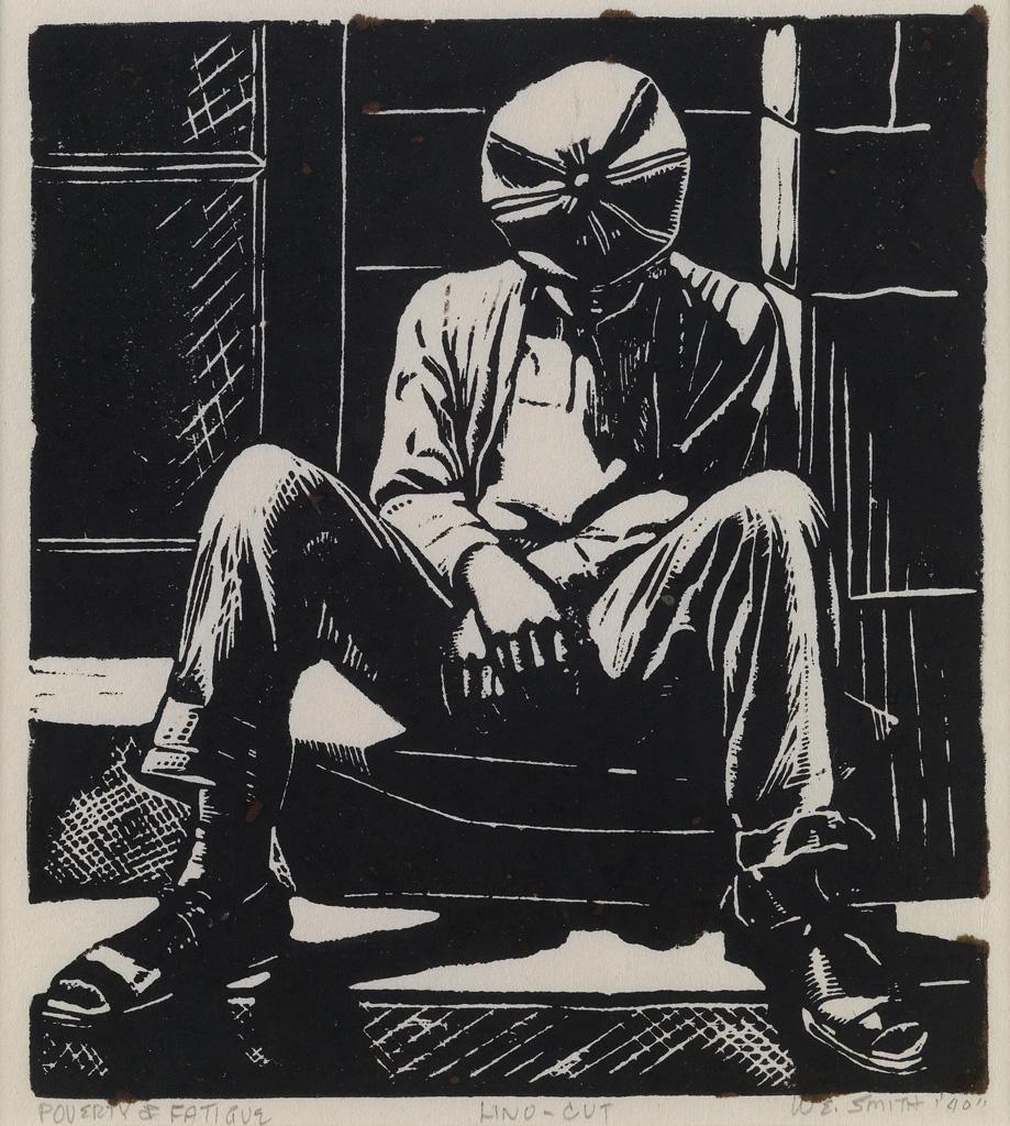 WILLIAM E. SMITH (1913 - 1977) Poverty & Fatigue.