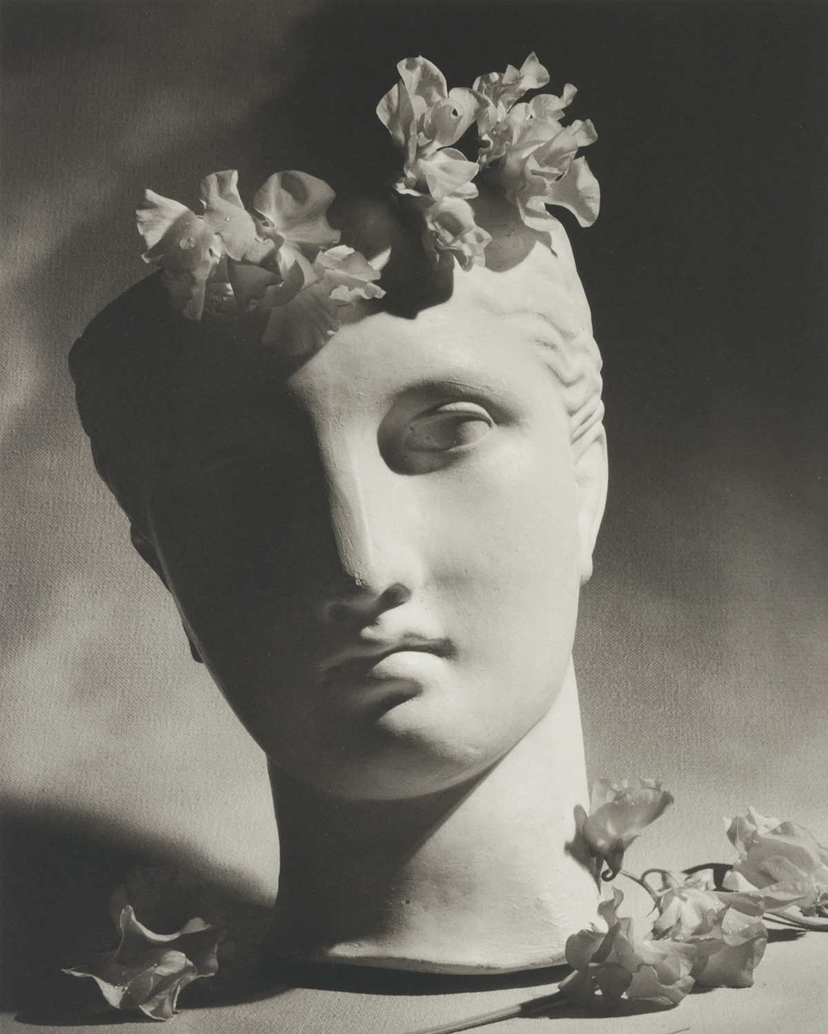 HORST-P-HORST-(1906-1999)-Classical-Still-Life-with-Bust-and