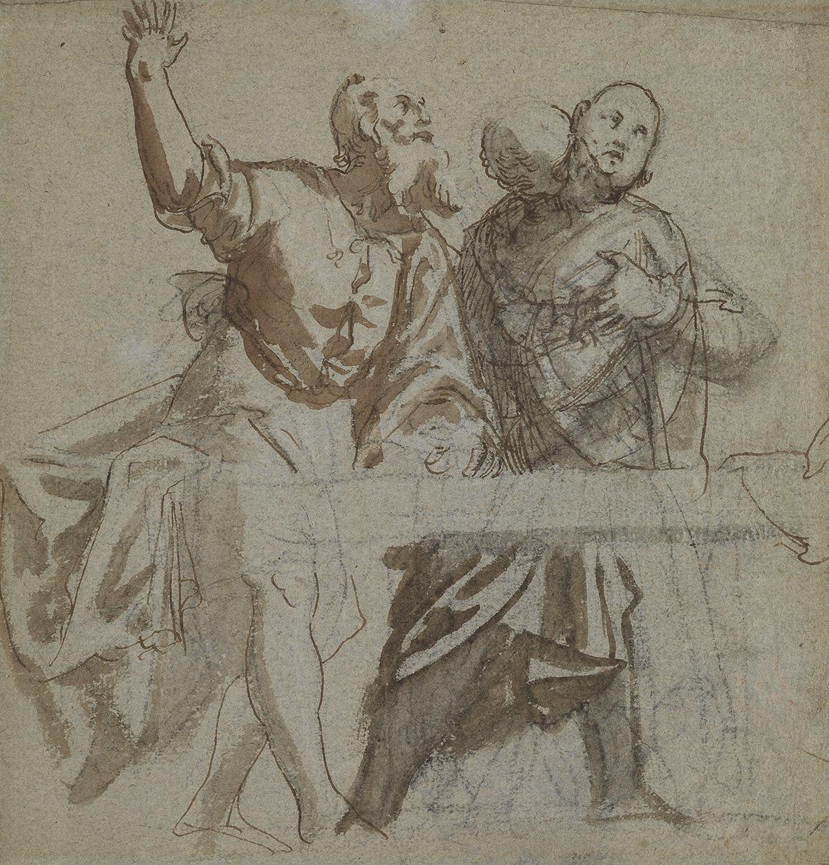 PAOLO-VERONESE-(CIRCLE-OF)-(Verona-1528-1588-Venice)-A-Study