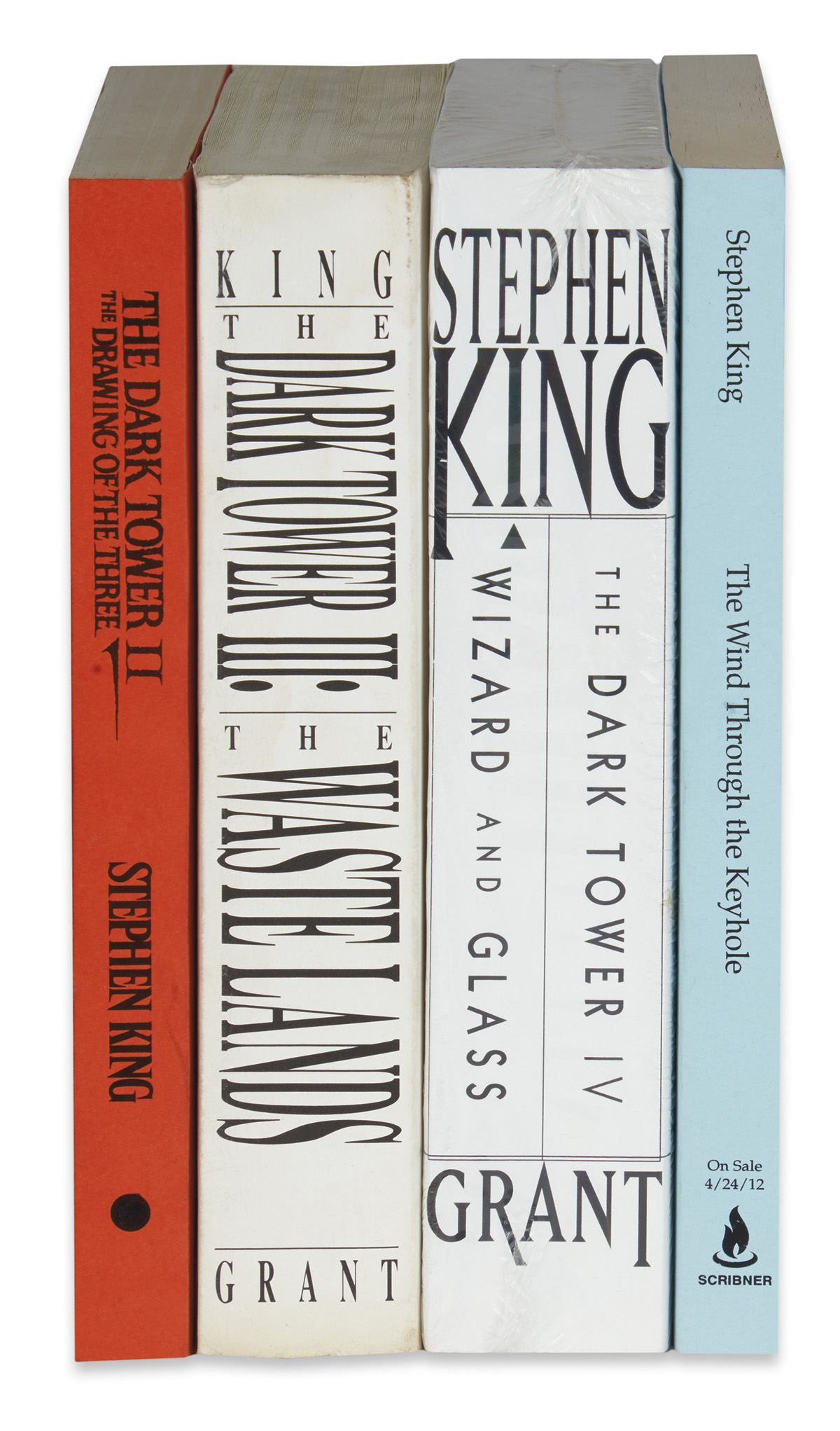 KING-STEPHEN-Group-of-4-Advance-Copies-from-the-Dark-Tower-S
