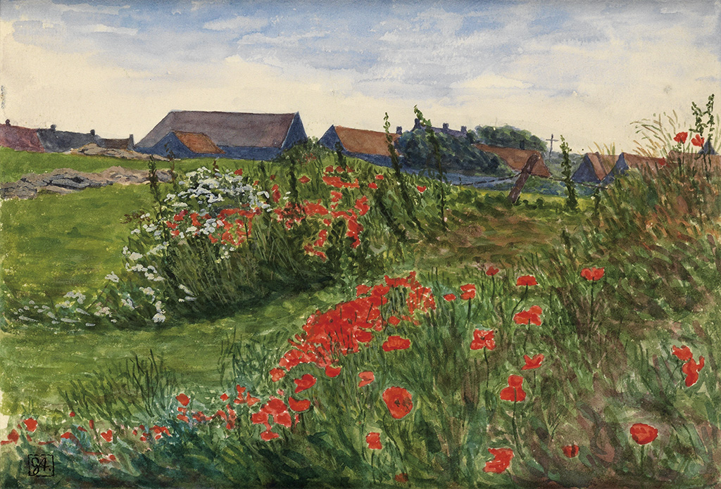 GEORGE-C-AULT-Poppy-Field-in-Bloom