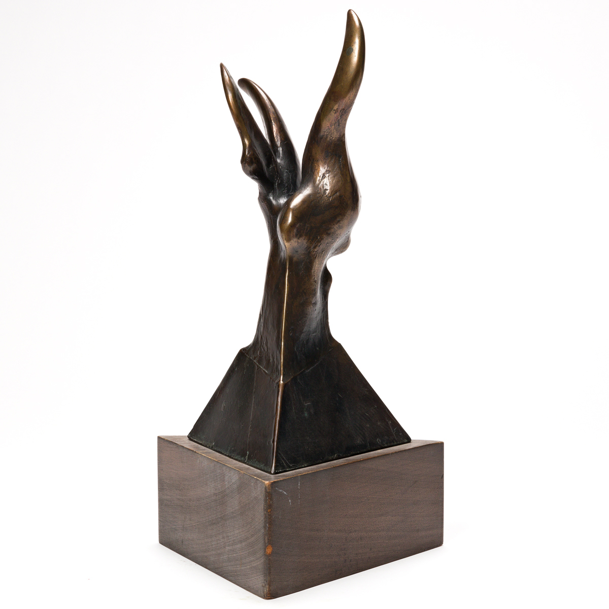 RICHARD HUNT (1935 - ) Untitled (Hybrid Form).
