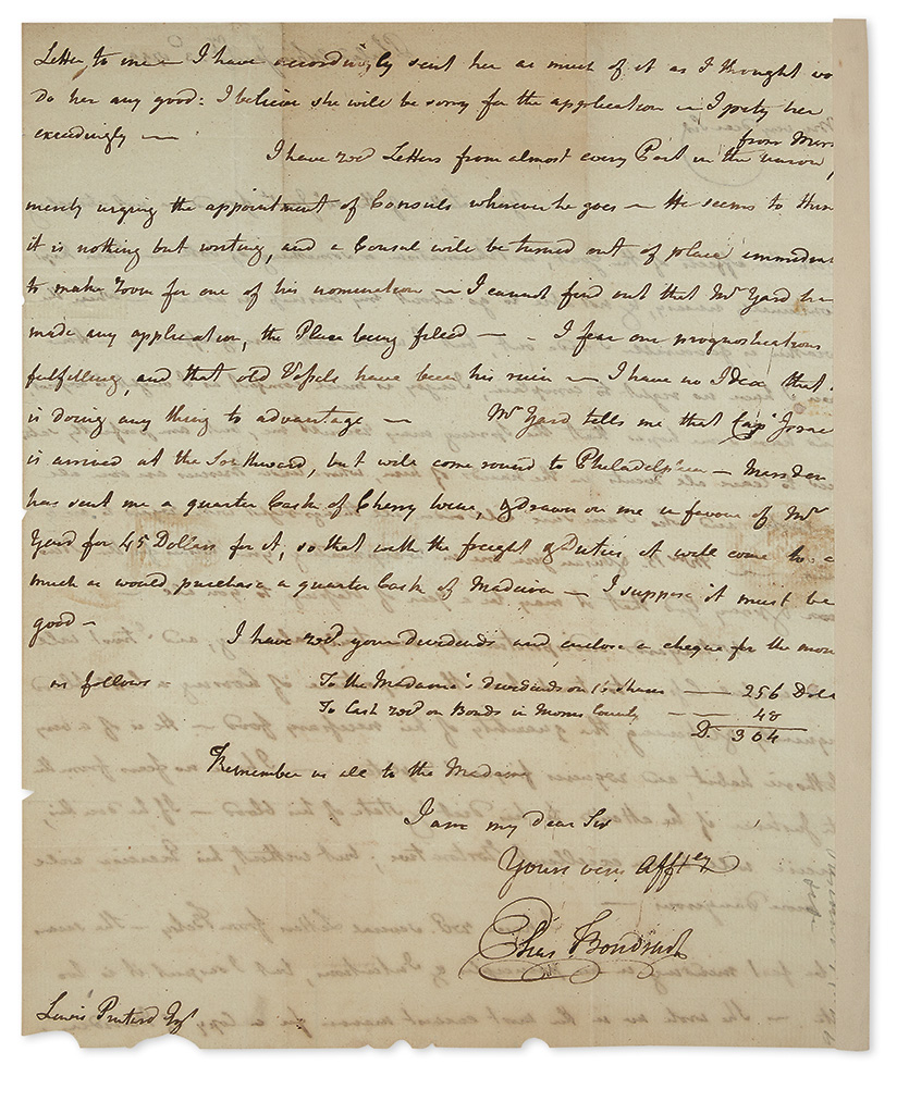 BOUDINOT-ELIAS-Autograph-Letter-Signed-as-Representative-to-