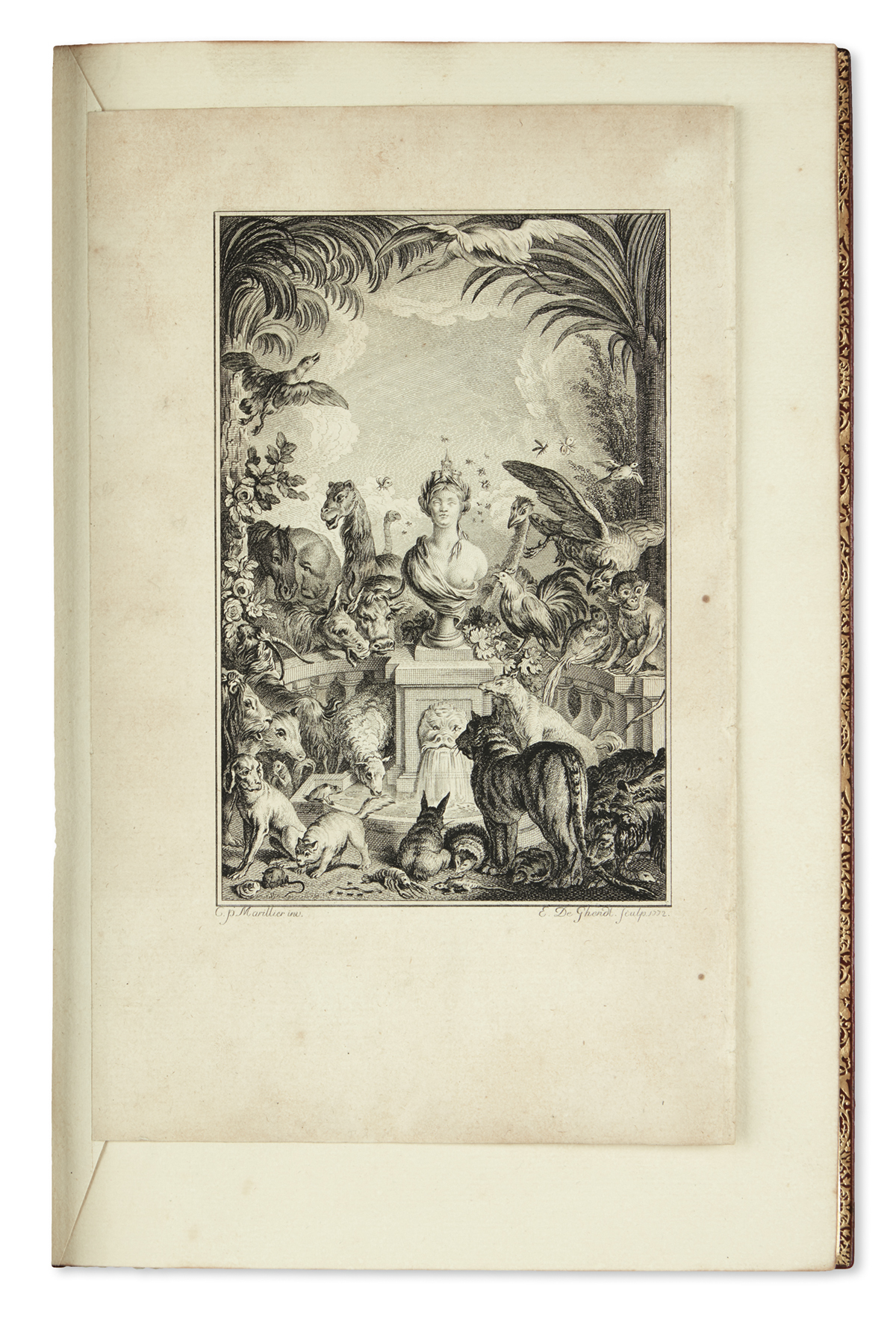 DORAT-CLAUDE-JOSEPH--Set-of-198-proofs-of-engravings-for-the