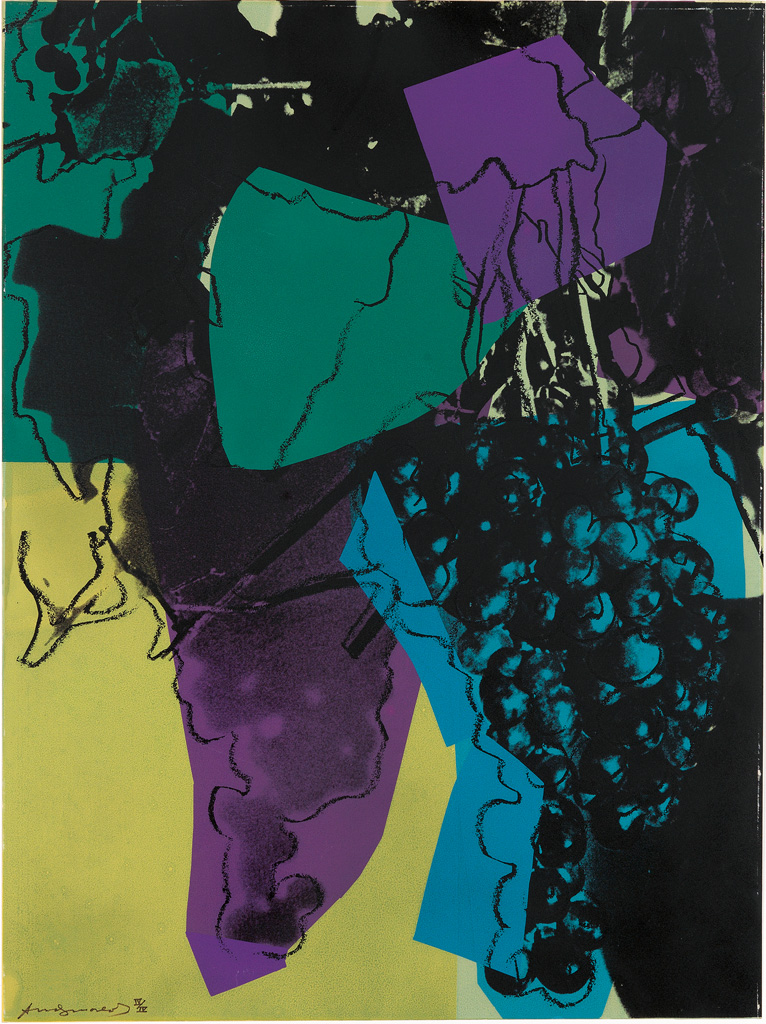 ANDY WARHOL Grapes (Special Edition).