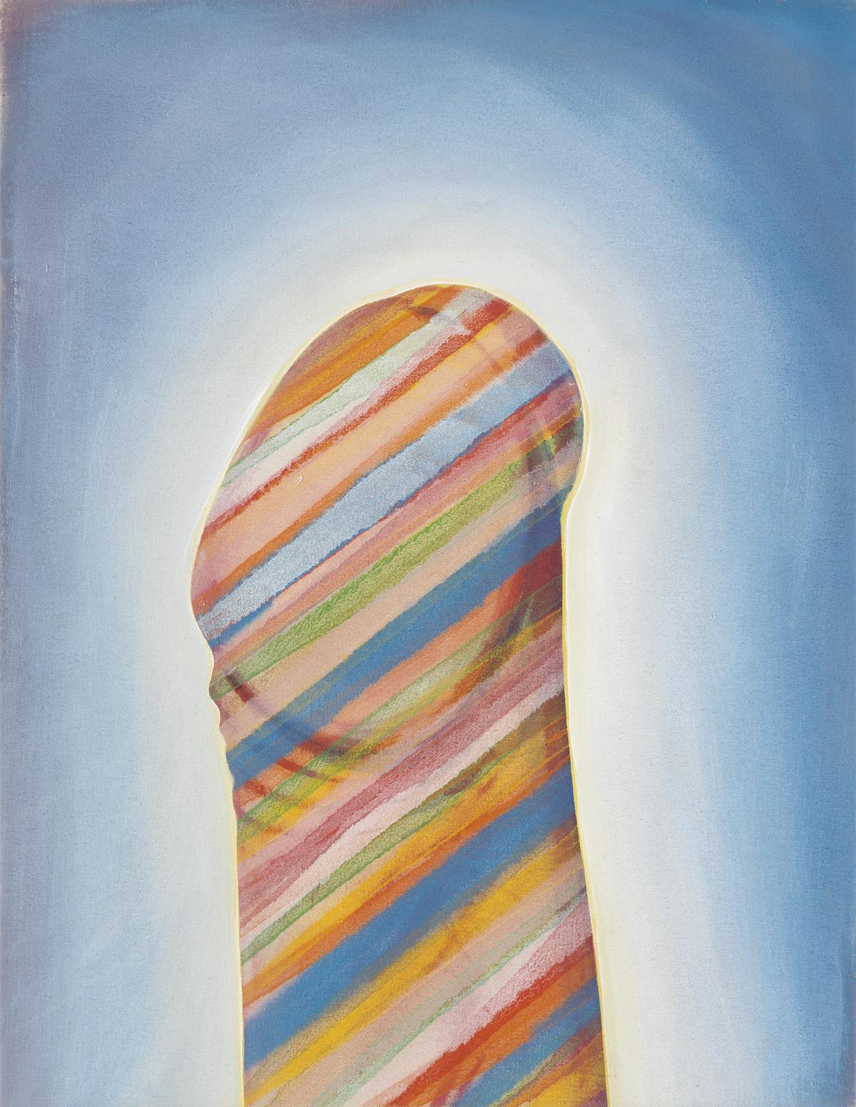 ROBERT ARNESON (1930-1992)  Striped Penis.