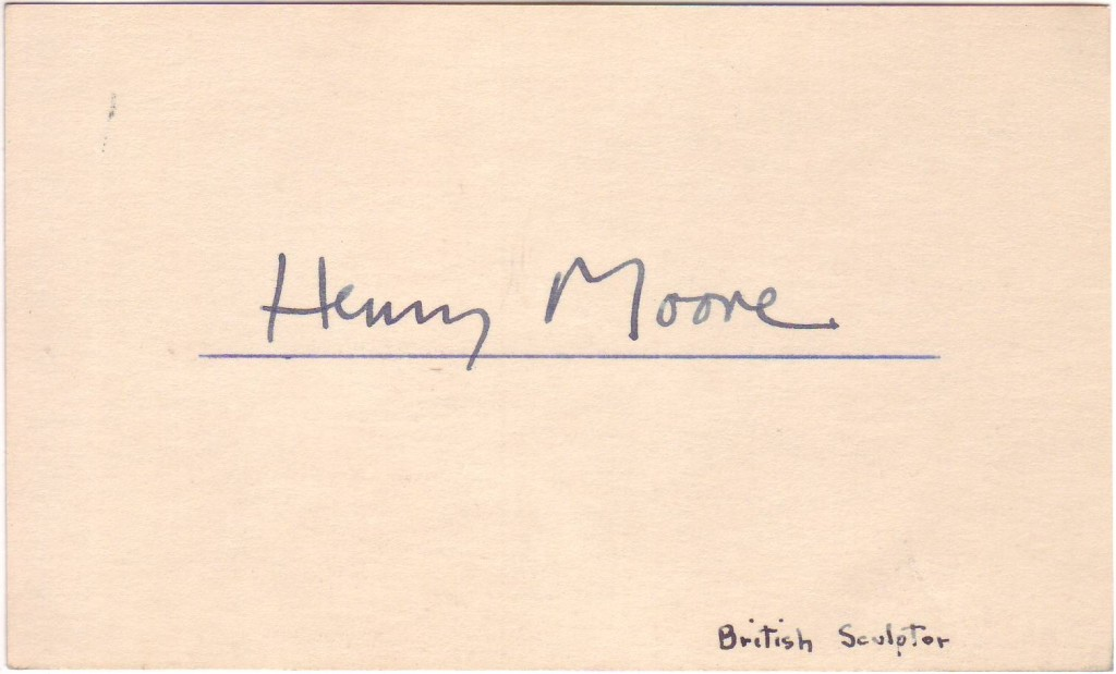 MOORE-HENRY-Signature-on-a-card