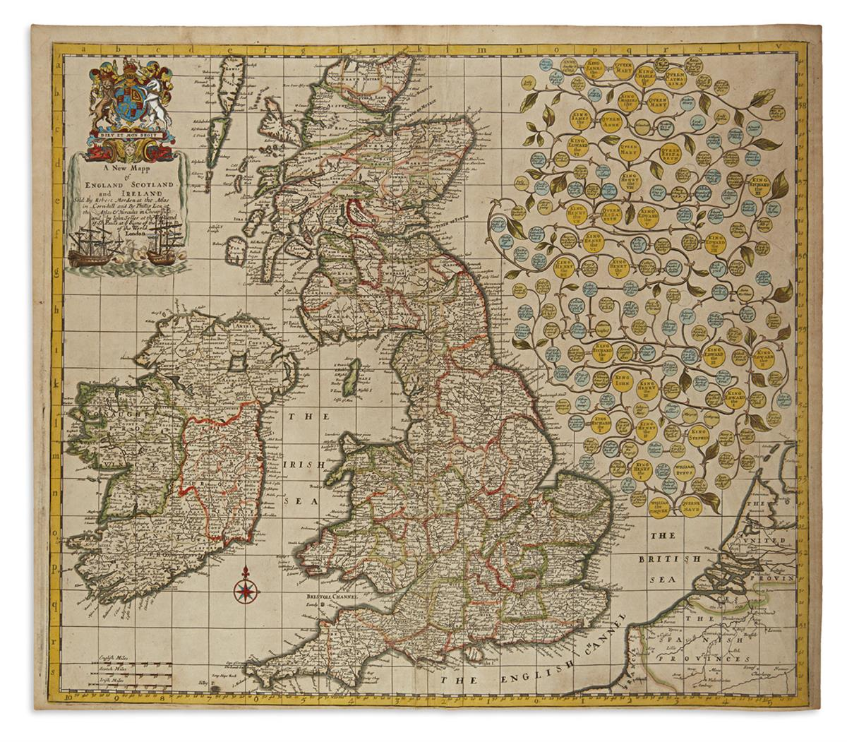 MORDEN-ROBERT-A-New-Mapp-of-England-Scotland-and-Ireland