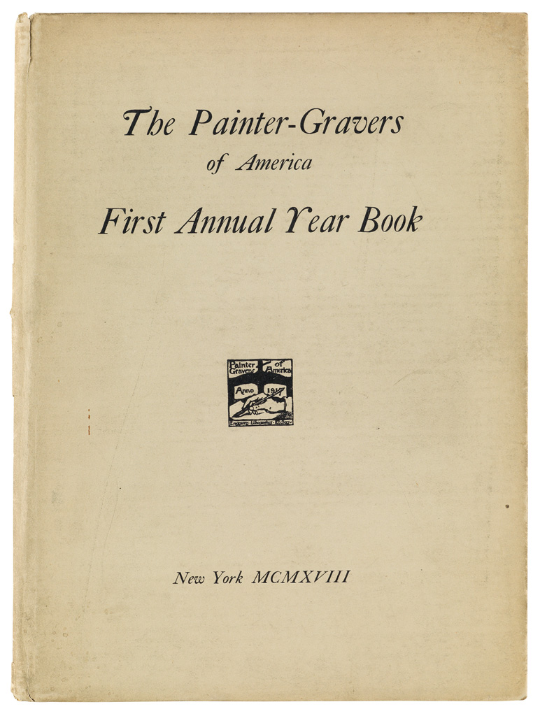 (AMERICAN-ART)-First-Annual-Year-Book-of-the-Painter-Gravers
