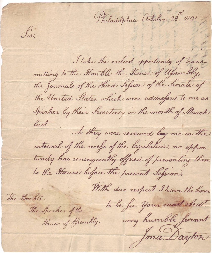 DAYTON-JONATHAN-Autograph-Letter-Signed-Jona-Dayton-as-US-Re