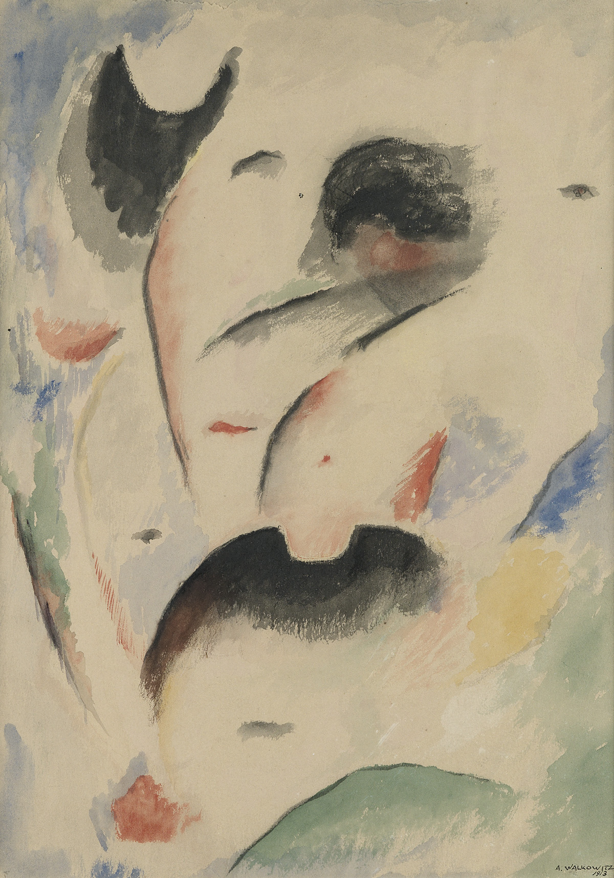 ABRAHAM-WALKOWITZ-Two-works-on-paper