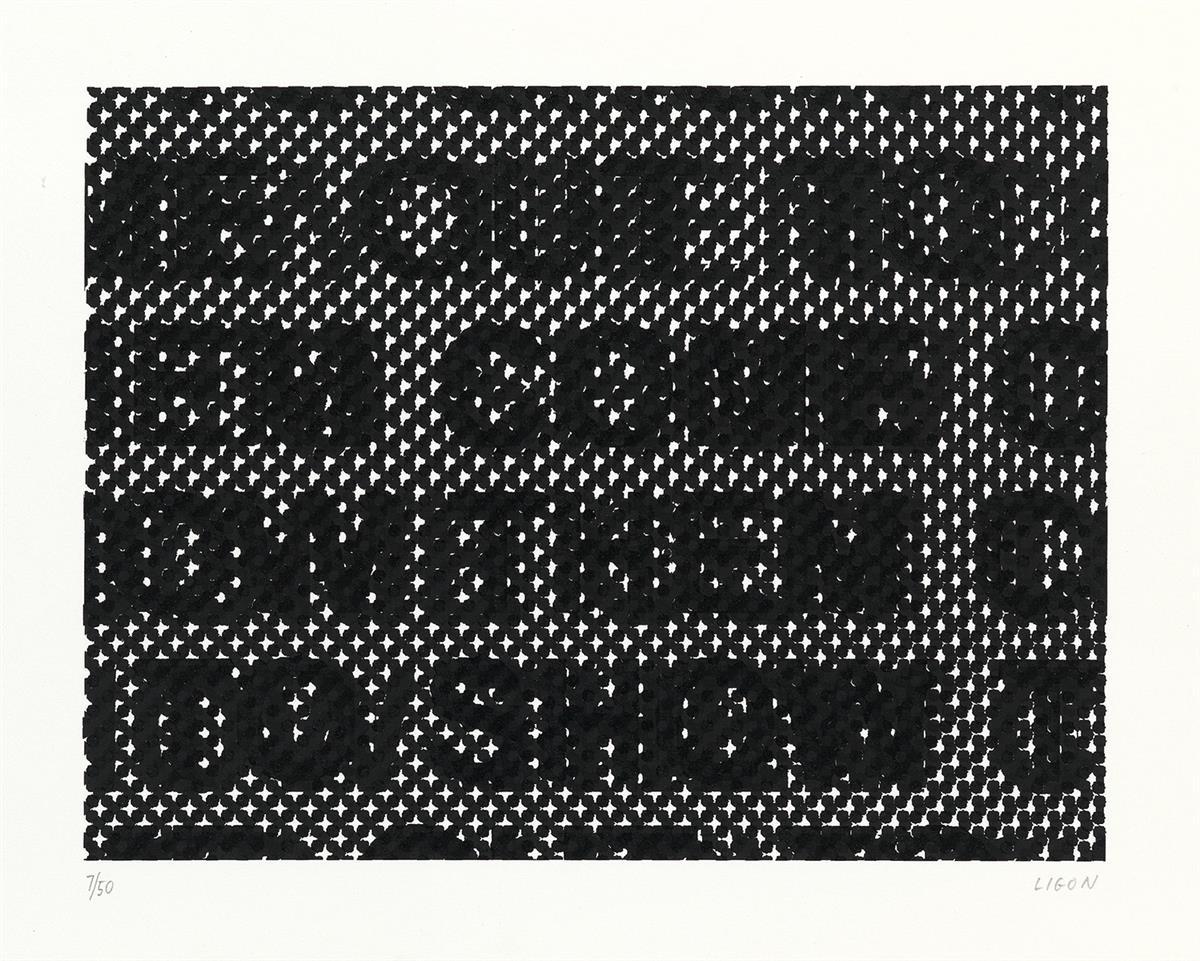 GLENN LIGON Detail.