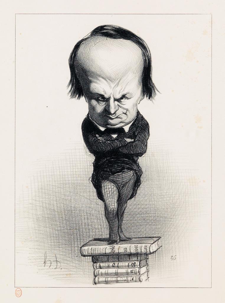 HONORÉ-DAUMIER-Three-lithographs